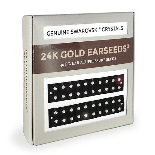 EarSeeds - Clear Swarovski® Crystal - 40 Piece