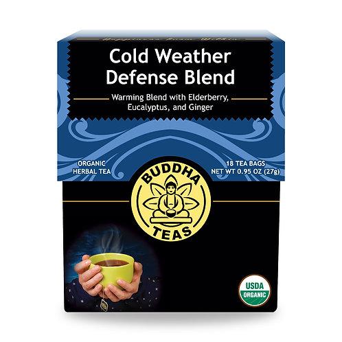 Cold Weather Defense Blend Tea - Organic - 18 Tea Bags