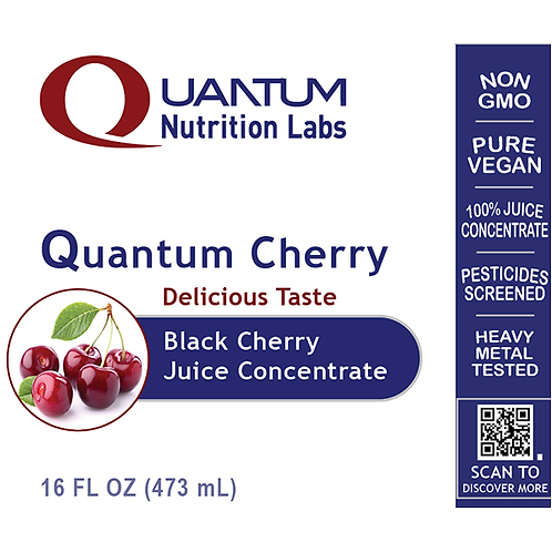 QNL - Black Cherry Juice, Quantum - 16 fl oz