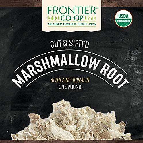 Marshmallow Root Cut & Sifted - Organic - 1 lb Bulk Bag