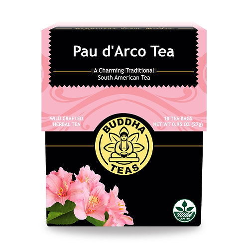 Pau d'Arco Tea - Wild Crafted - 18 Tea Bags