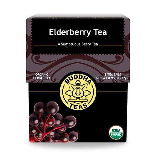Elderberry Tea - Organic - 18 Tea Bags