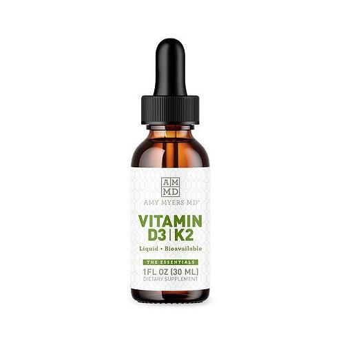 Vitamin D3 & K2 - 1 fl oz
