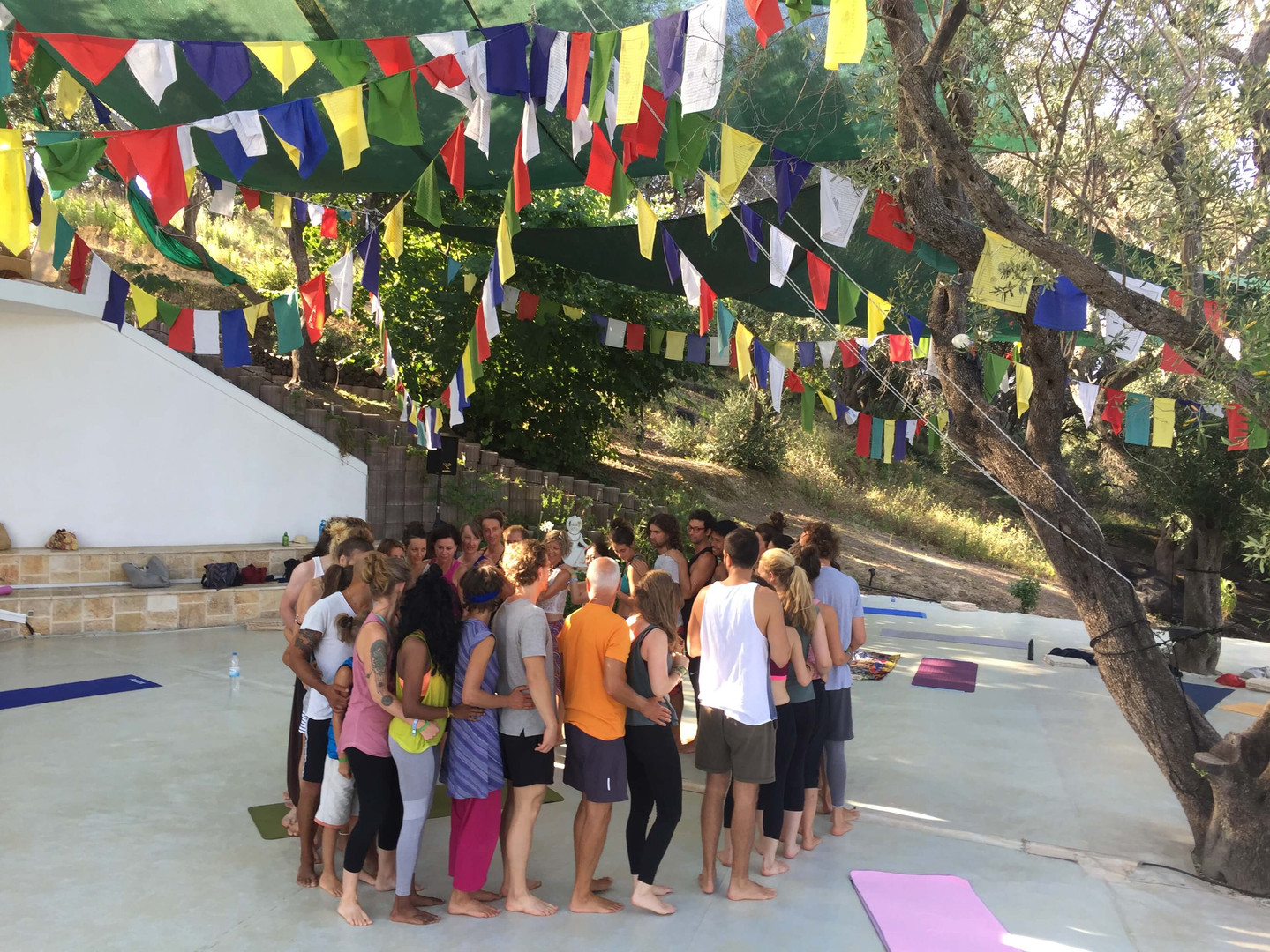 Therapeutisches Fliegen, Agape Zoe Festival Korfu