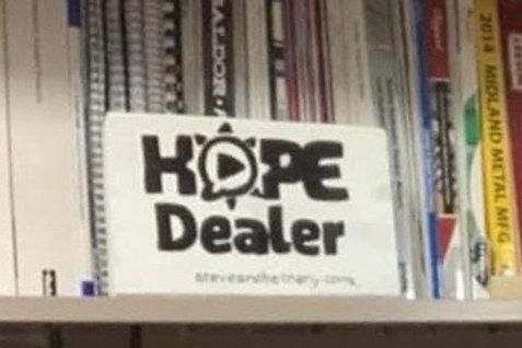 Hope Dealer Desk Art
