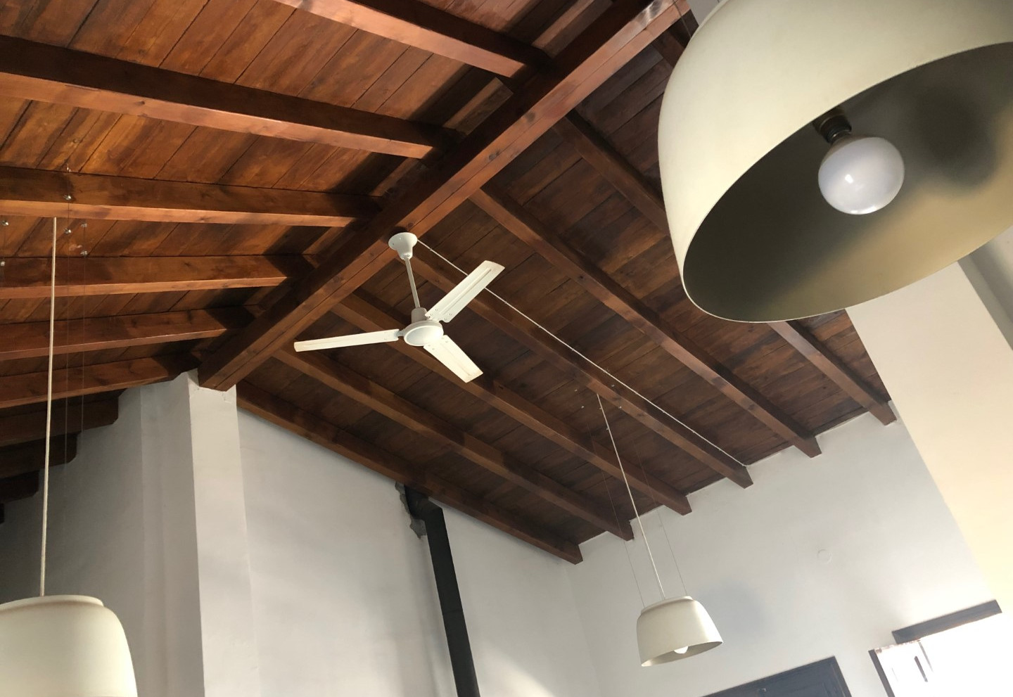 Heigh ceilings with Airco