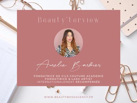 Beauty'terview Aurélie Barbier, fondatrice Cils Couture