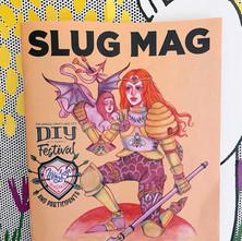Craft Knight for SLUG Magazine