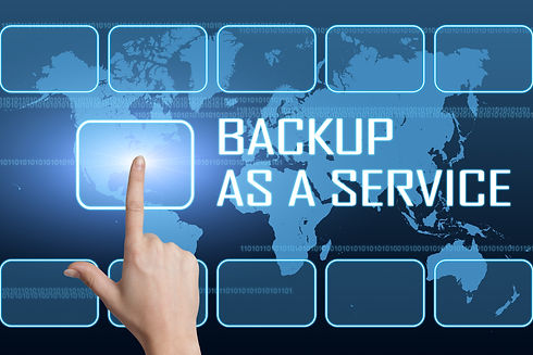 Backup as a Service concept with interfa