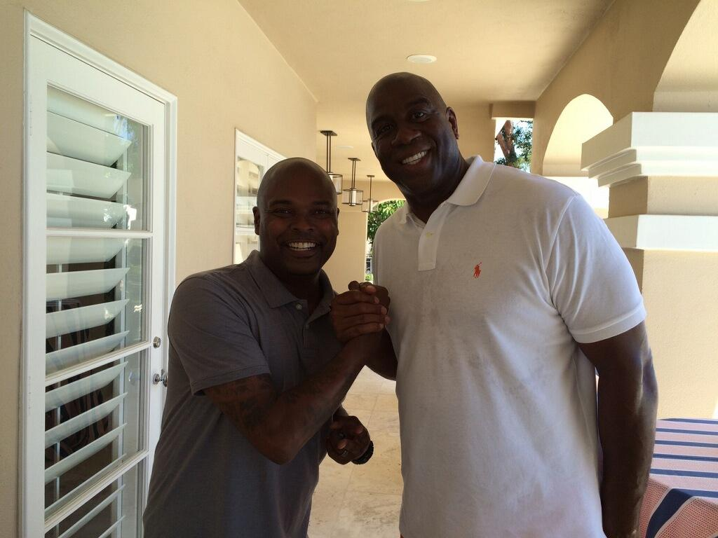 Magic Johnson's Birthday Party