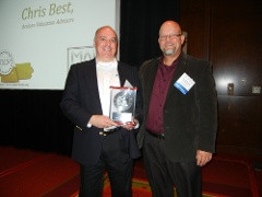 Chris Best Receives IA-NE ESOP Chapter Award