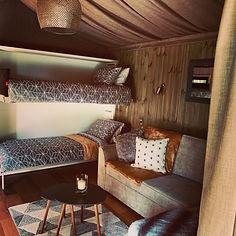 Doris 1 bedroom cabin interior bunks.JPG