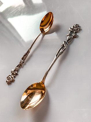 Ornate Teaspoons