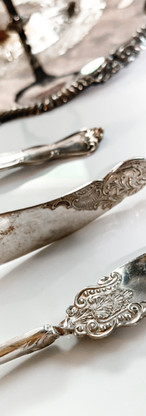 Antique Cheese Knives