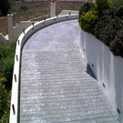 Residential ramp in South