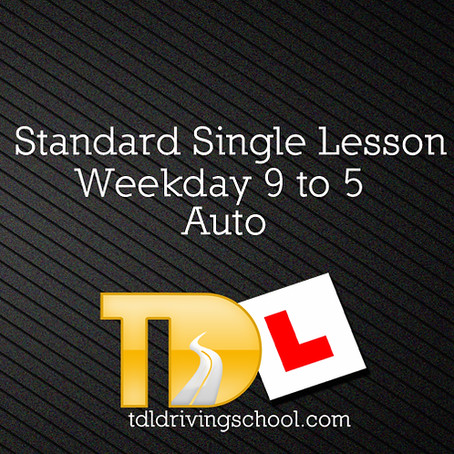 1 Standard Lesson - Automatic Drive - OffPeak