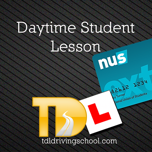 Daytime Student Lesson - Auto**