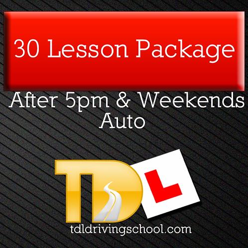30 Lessons - Automatic Drive - Peak