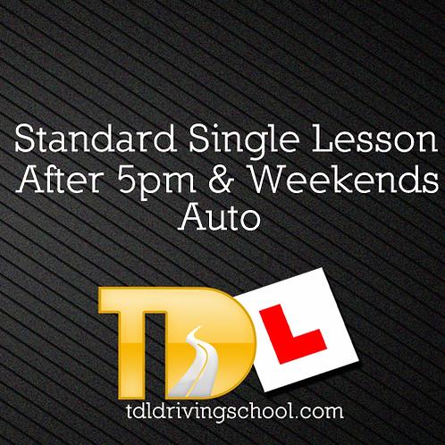 1 Standard Lesson - Automatic Drive - Peak