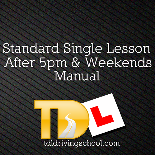 1 Standard Lesson - Manual - Peak