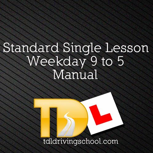 1 Standard Lesson - Manual - OffPeak