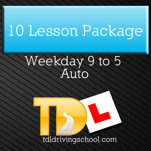 10 Lessons - Automatic Drive - OffPeak