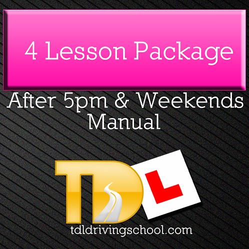 4 Lessons - Manual - Peak