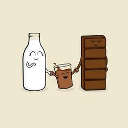 Milk + Chocolate