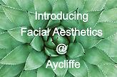 Facial Aesthetics @ Aycliffe