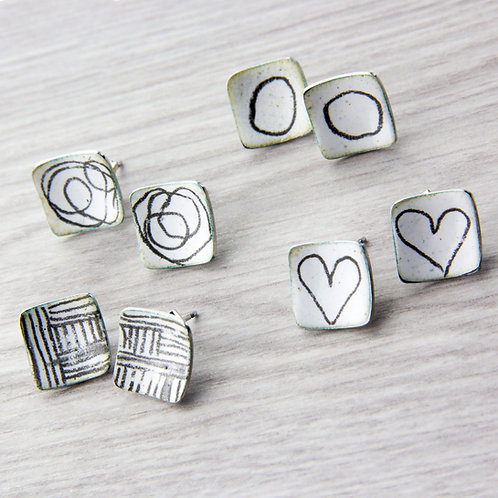 RBJE2 Square Studs