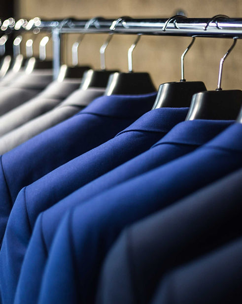 Dry Cleaned suit jackets