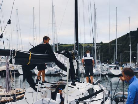 On the water - Dartmouth Regatta