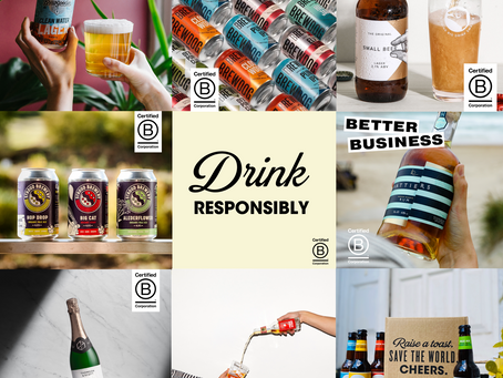 Hattiers has joined forces with fellow B Corp drinks brands to celebrate B Corp Month in style