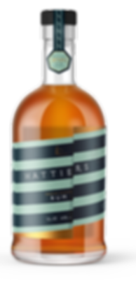 Hattiers Rum Bottle