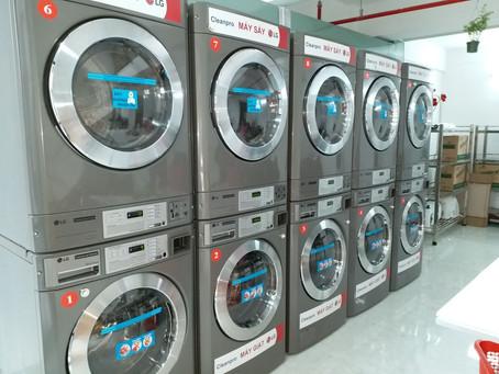 LG GIANT C - Tính ưu việt trong kinh doanh giặt sấy hiện đại