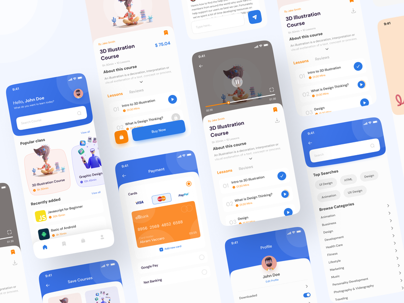 Mobile App Design Fundamentals- The Basic Difference between UI and UX !