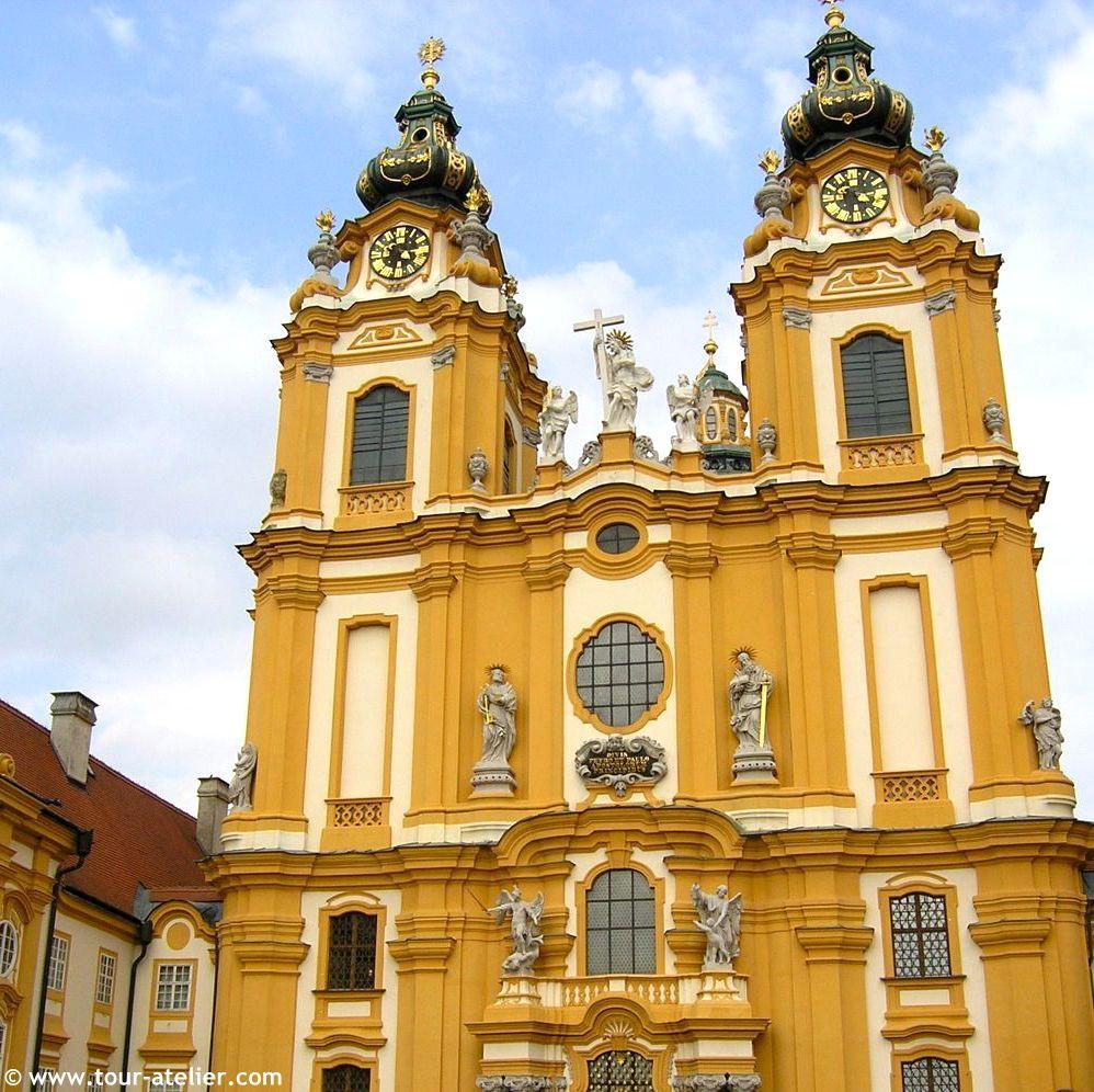 Монастир_Мельк_Австрія2