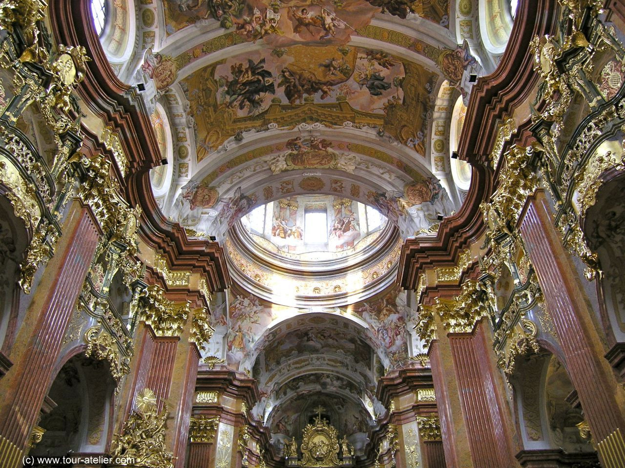 МонастирМельк_Австрія_5