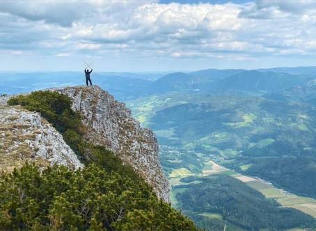 Подъем на гору Ракс в Нижней австрии
