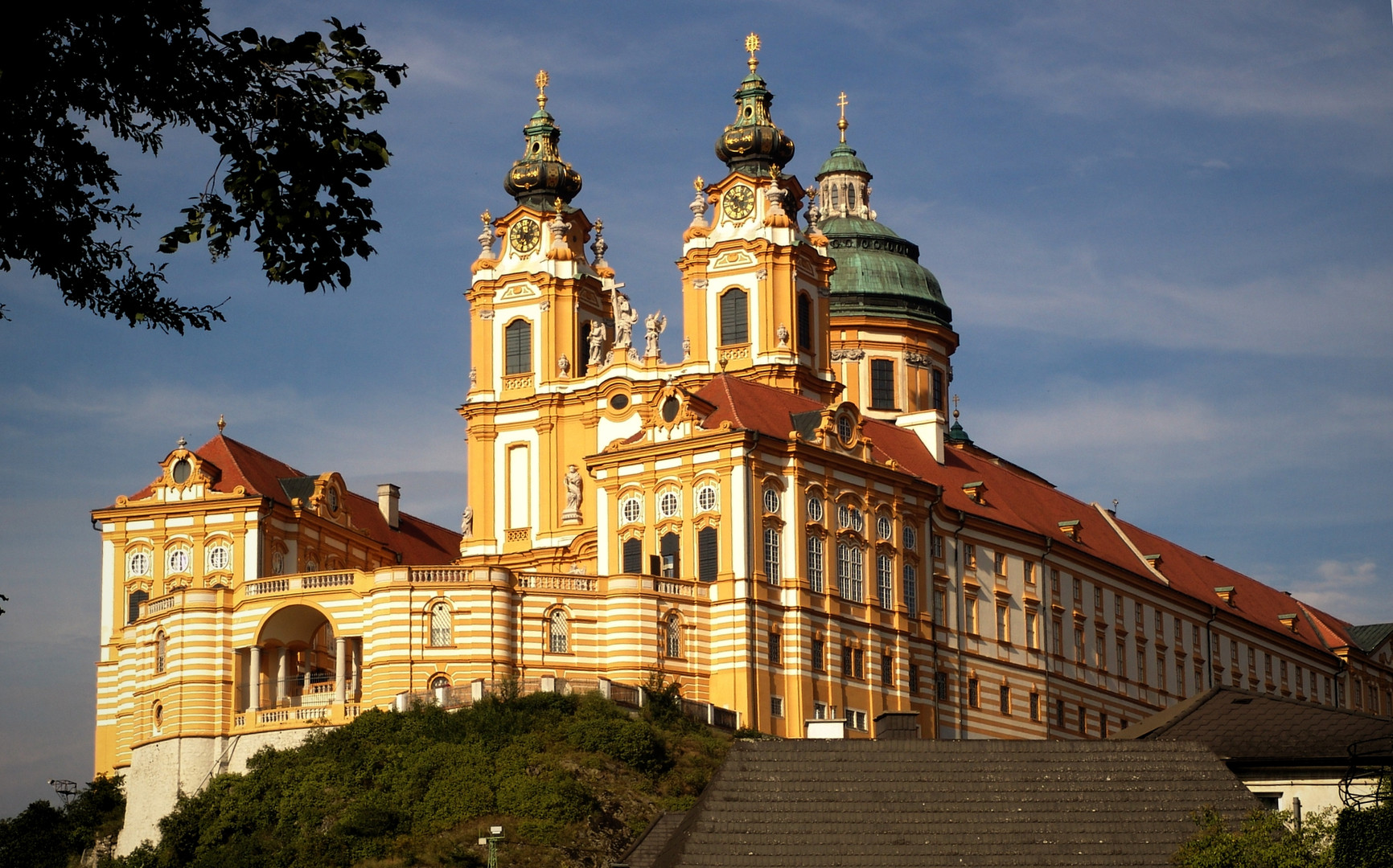 МонастирМельк_Австрія