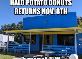 The Return of Halo Potato Donuts