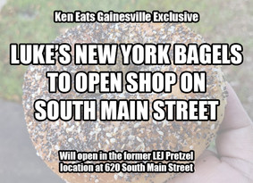Luke's NY Bagels to Open Downtown