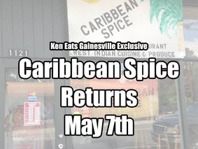 Caribbean Spice to open May 7th