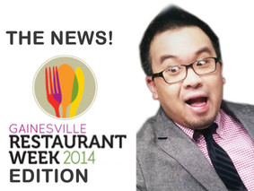 The News: Gainesville Restaurant Week Edition