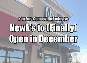Newk's to Finally Open In December