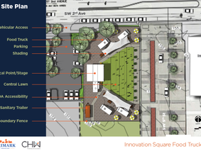 Innovation District to Open Food Park