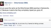 Shila Korean BBQ = Copycat?