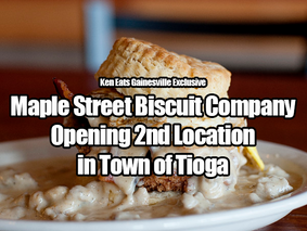 Maple Street Biscuit Company Opening 2nd Location