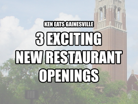 3 Exciting New Restaurant Openings