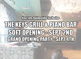 The Keys Grill & Piano Bar to Open Sept. 2nd
